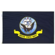 Annin & Co Armed Forces United States Navy Traditional Flag; 3' x 5'