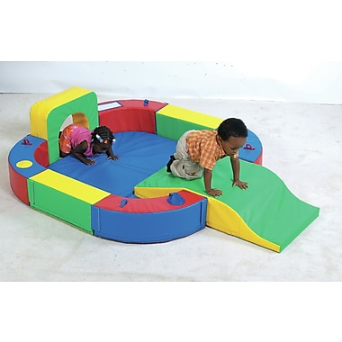 Children's Factory Playring w/ Tunnel and Slide
