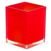 Gedy by Nameeks Rainbow Waste Basket; Red