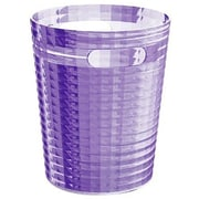 Gedy by Nameeks Glady 2.34 Gallon Resin Trash Can; Lilac
