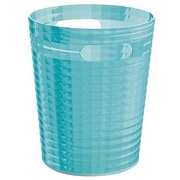 Gedy by Nameeks Glady 2.34 Gallon Resin Trash Can; Turquoise