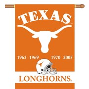 BSI Products NCAA 2-Sided Banner; Texas - Champ Years