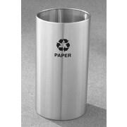 Glaro, Inc. RecyclePro Single Stream Open Top 22 Gallon Industrial Recycling Bin