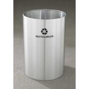 Glaro, Inc. RecyclePro Single Stream Open Top 39 Gallon Industrial Recycling Bin
