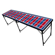 Party Pong Tables Football Field Professional Beer Pong Table; Buffalo