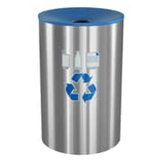 Ex-Cell Metal Products Celebrity 45-Gal Outdoor Industrial Recycling Bin