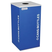 Ex-Cell Metal Products Kaleidoscope XL Series 24-Gal Industrial Recycling Bin