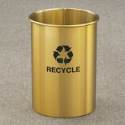 Glaro, Inc. RecyclePro Single Stream Open Top Recycling Receptacle