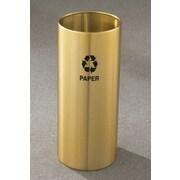 Glaro, Inc. RecyclePro Single Stream Open Top Industrial Recycling Bin; 29'' H x 12'' W
