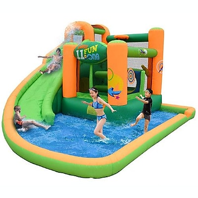 Kidwise Endless Fun 11-in-1 Inflatable Water Bounce House WYF078276048069