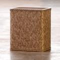 LaMont Carter Rectangular Wastebasket; Cappuccino