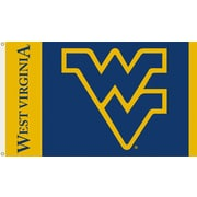 BSI Products NCAA Traditional Flag; West Virginia - ''WV'' Logo on Blue