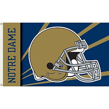 BSI Products NCAA Helmet Design Traditional Flag; Notre Dame