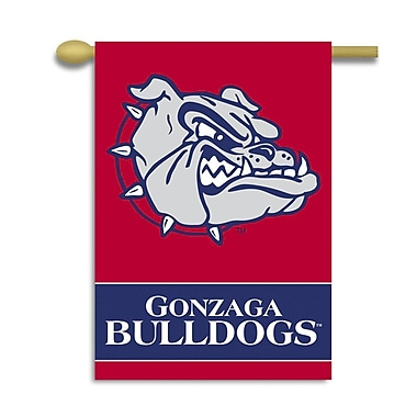 BSI Products NCAA 2-Sided Banner; Gonzaga