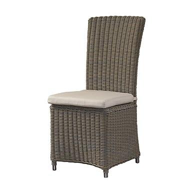 Padmas Plantation Gulf Shore Dining Side Chair w/ Cushion