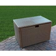 Tortuga Outdoor Stonewick Resin Storage Box