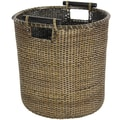Oriental Furniture Round Waste Bin