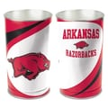 Wincraft NCAA Tapered Wastebasket; Arkansas