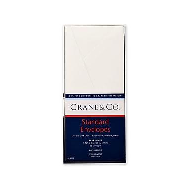 Crane & Co™ #10 Standard Business Envelopes, Pearl White