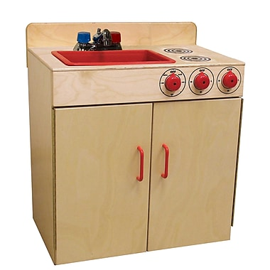 Wood Designs™ Dramatic Play Plywood Combination Sink and Range