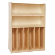 "Wood Designs™ Tip-Me-Not™ 24""(H) Plywood Bookcase, Birch"