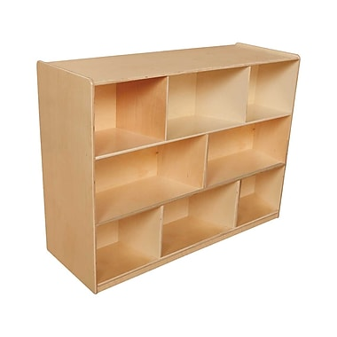 Wood Designs™ Storage 36in.H X-Deep Single Storage Unit, Birch