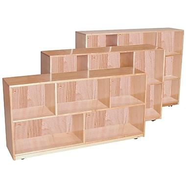 Wood Designs™ Storage 36in.H Single Storage, Maple