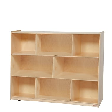 Wood Designs™ Storage Tip-Me-Not™ 36in.H Single Storage, Birch