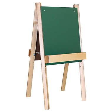 Wood Designs™ Art Deluxe Chalkboard Easel, Birch