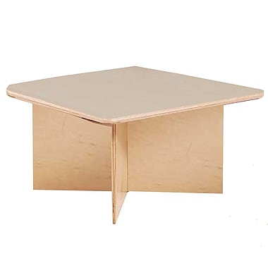Wood Designs Tot-Size 30'' Square Table, Birch (WD21800)