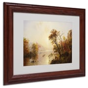 "Trademark Fine Art 11"" x 14"" Wooden Frame Framed Art, Wood Frame"