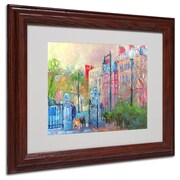 "Trademark Fine Art 11"" x 14"" Acrylic Canvas Artwork, Wood Frame"