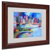 "Trademark Fine Art 11"" x 14"" Acrylic Artwork, Wood Frame"