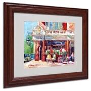 "Trademark Fine Art 11"" x 14"" Acrylic Fullers Artwork, Dark Wood Frame"