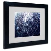 "Trademark Fine Art 11"" x 14"" Acrylic 50 Shapes, Black Frame"