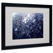 "Trademark Fine Art 16"" x 20"" Acrylic 50 Shapes, Black Frame"