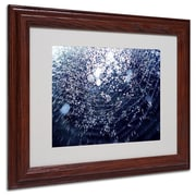 "Trademark Fine Art 11"" x 14"" Acrylic 50 Shapes, Wood Frame"