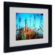 "Trademark Fine Art 11"" x 14"" Acrylic Painted by Nature, Black Frame"