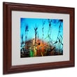 Trademark Fine Art 11in. x 14in. Acrylic Painted by Nature, Wood Frame