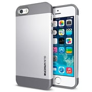 Spigen™ Slim Armor S Case For iPhone 5S/5, Satin Silver