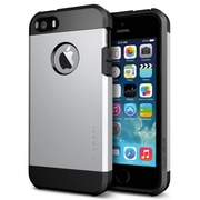 Spigen™ Tough Armor Case For iPhone 5S/5, Satin Silver
