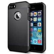 Spigen™ Tough Armor Case For iPhone 5S/5, Smooth Black