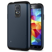 Spigen™ Slim Armor Case For Galaxy S5, Metal Slate