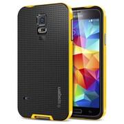 Spigen™ Neo Hybrid Case For Galaxy S5, Reventon Yellow