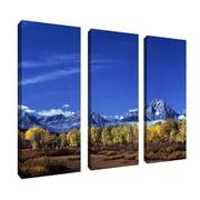"Trademark Fine Art 32' x 12"" Canvas Gallery Wrapped Art"