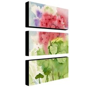 """Trademark Fine Art 12"""" x 24"""" Canvas & Wood Gallery Wrapped"""