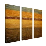 Trademark Fine Art 8 x 24 Wood/Canvas Wall Art