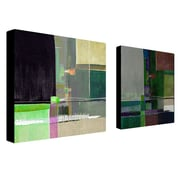 "Trademark Fine Art 14"" x 14"" ABS, Canvas Wrapped Art"