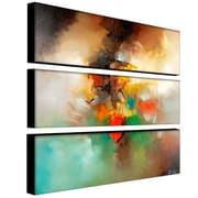 Trademark Fine Art 10 x 32 ABS, Canvas Gallery Wrapped Abstract I