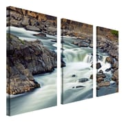 "Trademark Fine Art 12"" x 24"" Wooden Frame Gallery-Wrapped Canvas Art"
